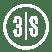 3Skills Logo whiite